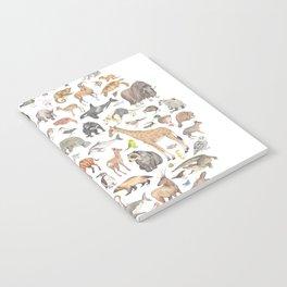 100 animals Notebook