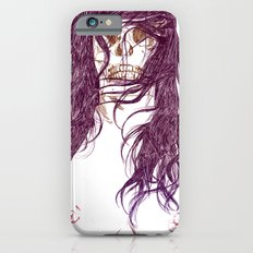 Give us a kiss (bw) Slim Case iPhone 6s