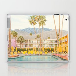 Poolside in Palm Springs - Travel Photography Laptop & iPad Skin