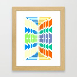 INDIAN ABSTRACT Framed Art Print