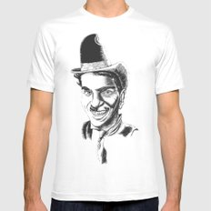 The Comedians Mens Fitted Tee White MEDIUM