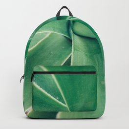 Photography of a Tropical Green Plant Backpack