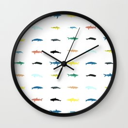 Swimmers Wall Clock
