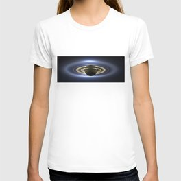 The Planet Saturn passing in front of the Sun T-shirt