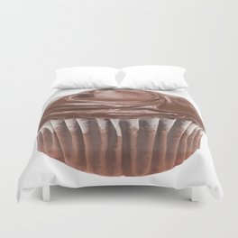Chocolate Cupcake Duvet Cover