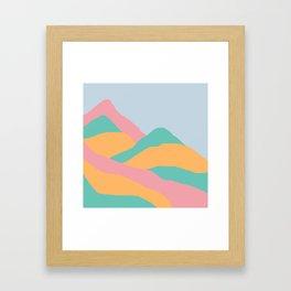 MOUNTAIN PGO Framed Art Print