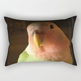 Archie Lovebird Rectangular Pillow
