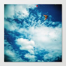 Clouds and Kites Canvas Print