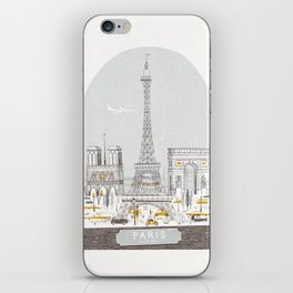 Petit Belle iPhone Skin