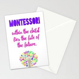 Montessori Quote  Stationery Cards