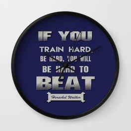 Herschel Walker Football player Sports quote Wall Clock