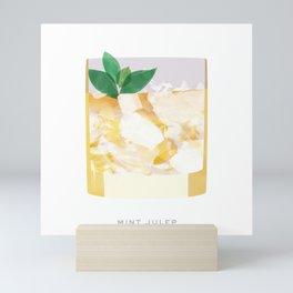 Cocktail Hour: Mint Julep Mini Art Print