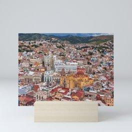 Downtown Guanajuato, Mexico Mini Art Print