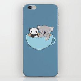 Kawaii Cute Koala and Panda iPhone Skin