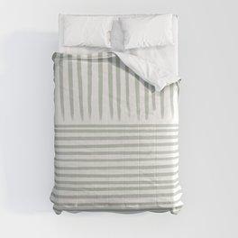 Contra Sage Lines  Comforters