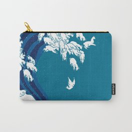 Waves Llama Carry-All Pouch