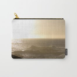 California Ocean at sunset Carry-All Pouch