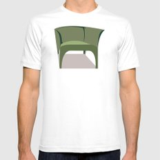 Chair Mens Fitted Tee White MEDIUM