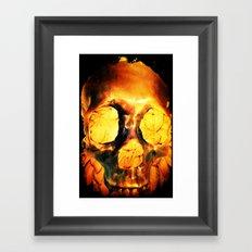 Flores Por Los Muertos. Framed Art Print