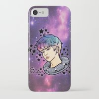 exo iPhone & iPod Cases featuring [EXO] - Sehun Galaxy by sagwa