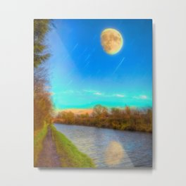 The Narrow Path Metal Print