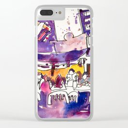 20170309b Chinatown Smith Street USKSG Clear iPhone Case