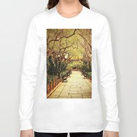 central park Long Sleeve T-shirts featuring Central Park by Vivienne Gucwa