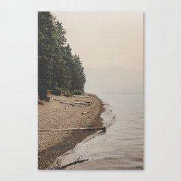 Surreal Lakeside Canvas Print