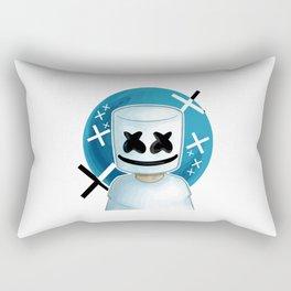 marshmello vectorized Rectangular Pillow