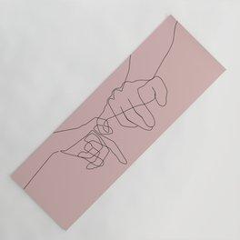 Blush Pinky Yoga Mat