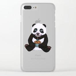 Panda's Birthday Clear iPhone Case
