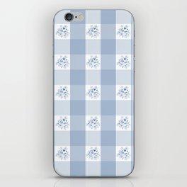 Greta - Gingham iPhone Skin