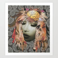Collage 8 Art Print