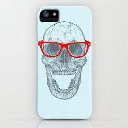 Smart-Happy Skully iPhone Case