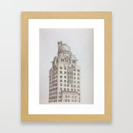 Chicago - Medinah Framed Art Print