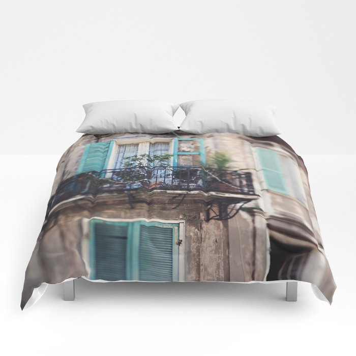 New Orleans - Close Your Eyes and Dream Comforters