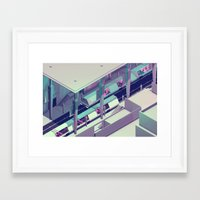 subway Framed Art Prints featuring Subway by Timothy J. Reynolds