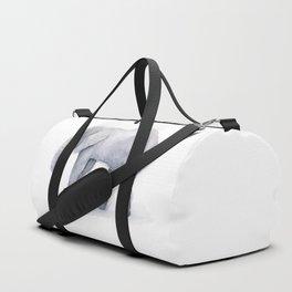 Elephant Watercolor Duffle Bag