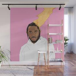 Kendrick Lamar, Pink Wall Mural