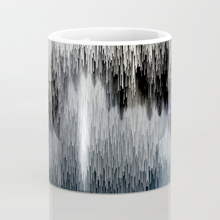 Planet Pixel Out of the Shadows Coffee Mug