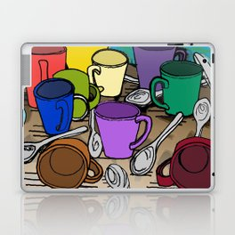 Cups and Spoons Laptop & iPad Skin