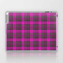 Vintage Lunchbox Design in Magenta Laptop & iPad Skin