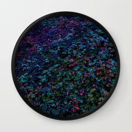 Cotoneaster in Cold Colours Wall Clock