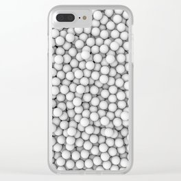 Golf balls Clear iPhone Case