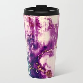 golden crackle Travel Mug