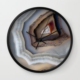 Laced agate 1730 Wall Clock