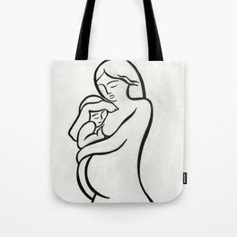 Mother & Child Tote Bag