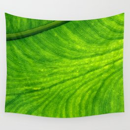 Leaf Paths Wall Tapestry