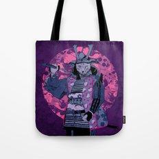 Samurai Kitty Tote Bag