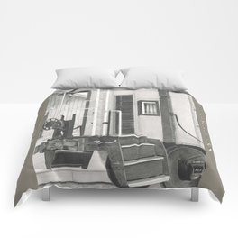 All aboard! Comforters